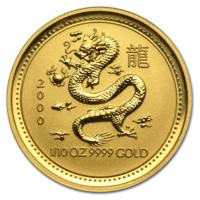 Куплю монеты Австралии Lunar Series 1 (1996 - 2007) (1/10 oz) золото (UNC)