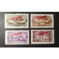 Великий Ливан (французский мандат)\1428\1926 Авиапочта.Надпечатки.Самолет MH кц18евр