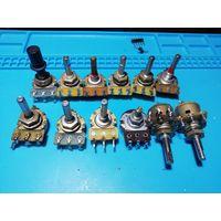 Переменные резисторы 12шт