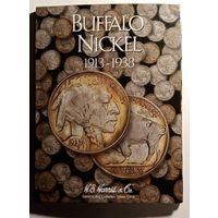 Альбом для монет 5 центов Никель Индеец Бык 1913 - 1938 года США
