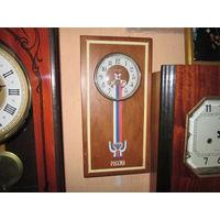 Часы настенные Янтарь Россия,кварц.