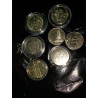 Продам набор коллекционных монет Литвы