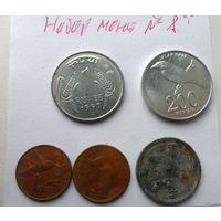 Набор монет - лот 8 /цена за все/