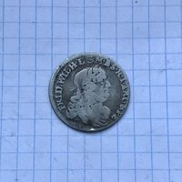 Монета 6 грошей 1679 г. Фридрих Вильгельм (Пруссия)