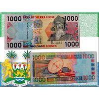 СЬЕРРА-ЛЕОНЕ 1000 Леоне 2006 год UNC P24