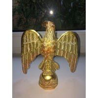 Птица счастья из Индии цвет золото, металл. Высота 16 см, ширина 15 см. Отличное состояние.