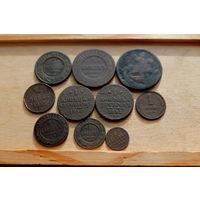 10 медных монеток 1