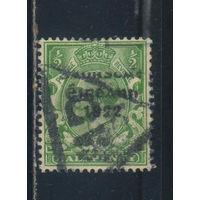 Ирландия Свободное государство 1922 Надп #25II