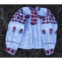 Кофта домотканая льняная (рубашка, вышиванка) 1928 г.