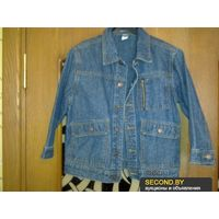 Курточка джинсовая,122см