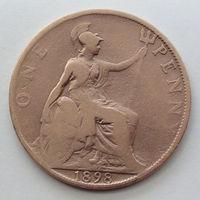 Великобритания 1 пенни. 1898