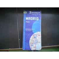 Мадрид, карта, план-схема большая.