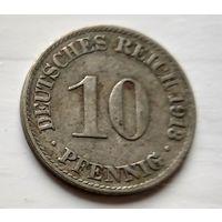 Германия 10 пфеннигов, 1913 A - Берлин 2-1-40