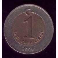 1 Лира 2006 год Турция