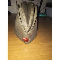 Пилотка солдата Советской армии.