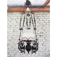 Старинная Электрическая Люстра / Antique chandelier, Первая половина 20 века.