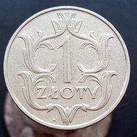 1 злотый 1929 ПОЛЬША