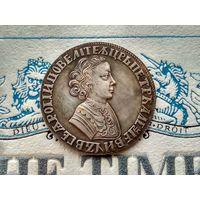 Монета РИ, 1 рубль 1704 (дата чеканки указана старославянскими буквами). #2.