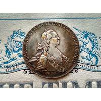 Монета РИ, 1 рубль 1774.