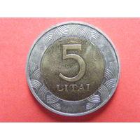5 литов 1998 Литва