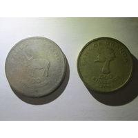 Уганда 100 и 500 шиллингов. Распродажа