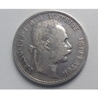 Австрия 1 флорин 1883г