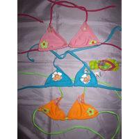 Лиф купальный для девочки 5-7 лет, разные цвета. Новые!