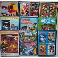 DVD диски с мультфильмами, цена за лот (лот 2)
