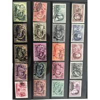 Большой лот марок Венгрии 2. Много дорогих чистых марок. Все на фото!  С 1 руб!