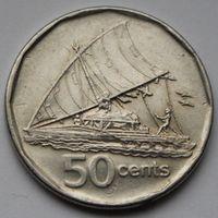 Фиджи, 50 центов 2009 г