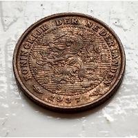 Нидерланды 1/2 цента, 1937 1-11-13