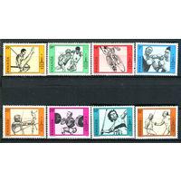 Руанда - 1980г. - Олимпийские игры в Москве - полная серия, MNH [Mi 1042-1049] - 8 марок