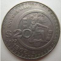 Мексика 20 песо 1982 г. (u)