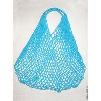 """Сетчатая сумка """"Голубая"""""""