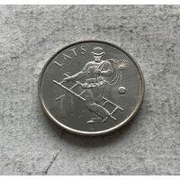 Латвия 1 лат 2008 - Трубочист