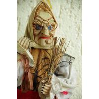 """Кукла """" Баба Яга  """"  ручная работа  42 см"""
