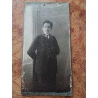 Фотография Л.Н.Сажина г. Арзамасъ 1916 г на картоне