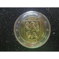 Латвия 2 евро 2017 Латгале