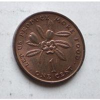Ямайка 1 цент, 1971-1974 ФАО - Давайте производить больше еды 4-15-19