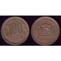 100 Песо 1984 год Чили