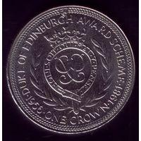 1 Крона 1981 год о-в Мэн