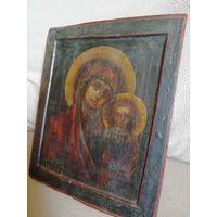 Икона рубежа 17-18 века. Казанская Богородица
