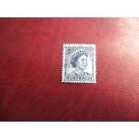 Марка королева Елизавета II 1959 год Австралия