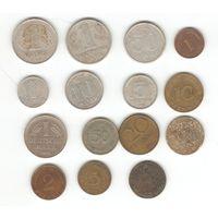 Монеты Германии 15шт.