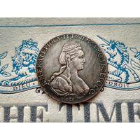 Монета РИ, 1 рубль 1781.