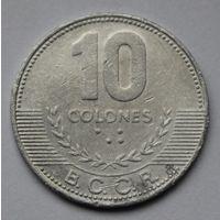 Коста-Рика, 10 колонов 2005 г.