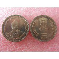 Индия 5 рупий 2006 Махатма Басавешвара UNC