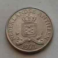 25 центов, Нидерландские Антильские острова, (Антиллы) 1971 г.