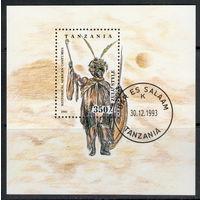 Танзания /1993/ Исторических Африканские Костюмы / Блок