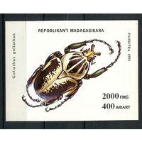 Мадагаскар (Малагаси) - 1994 - Жуки - [Mi. bl. 254] - 1 блок. MNH.